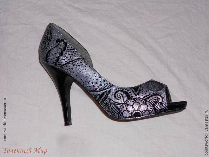 расписная обувь