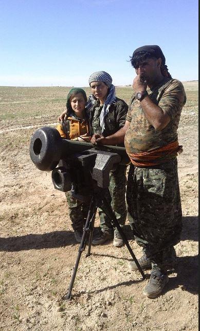 Западные ПТРК на вооружении курдских формирований
