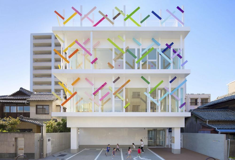 Яркий детский сад в Японии