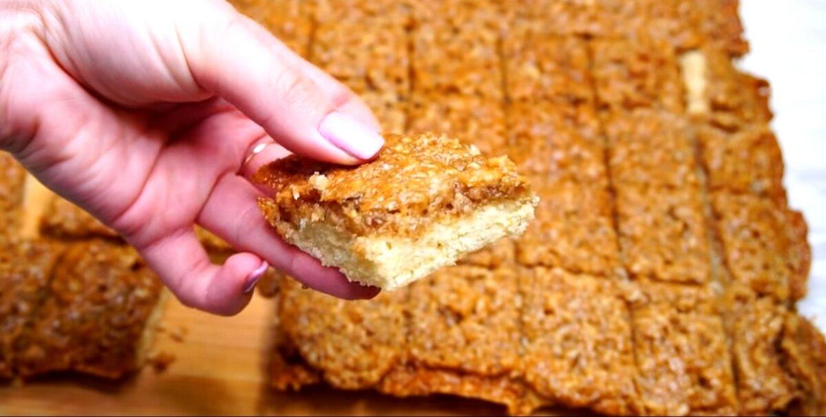 Кусочек готового печенья