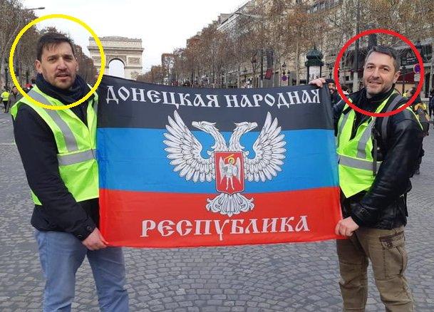 Рука Кремля в Париже