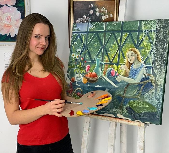 Художница из Петербурга рисует наивные сказки, от которых на душе становится теплее Надежды, Ильиной, Фэнтези, Надежда, художница, Ильина, художницы, созвездии, слона, фэнтези, полотна, сказочные, которые, эмоции, сказок, считает, использует, пишет, Балеринка, страдания