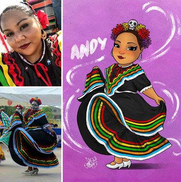 Бразильский художник рисует полных девушек, чтобы избавить их от комплексов