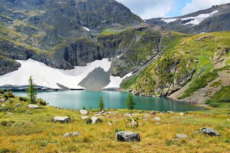 Озеро на Красной горе. алтай, озёра, путешествия, фото