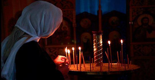 Как ставить свечи в церкви: …