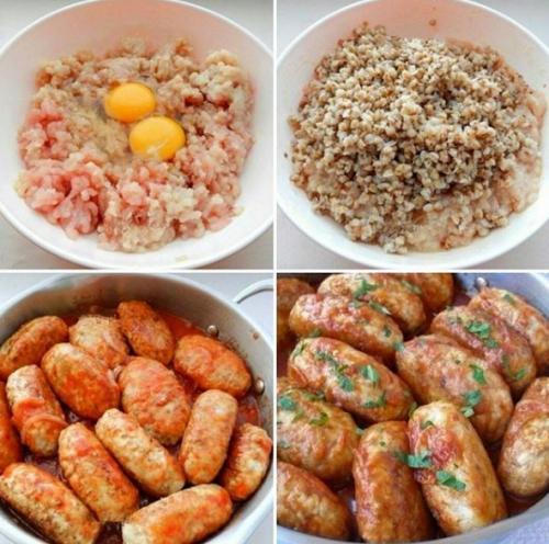 Гречаники.<br /> Гречаники, приготовленные по этому рецепту, получаются аппетитными, сытными и очень вкусными.