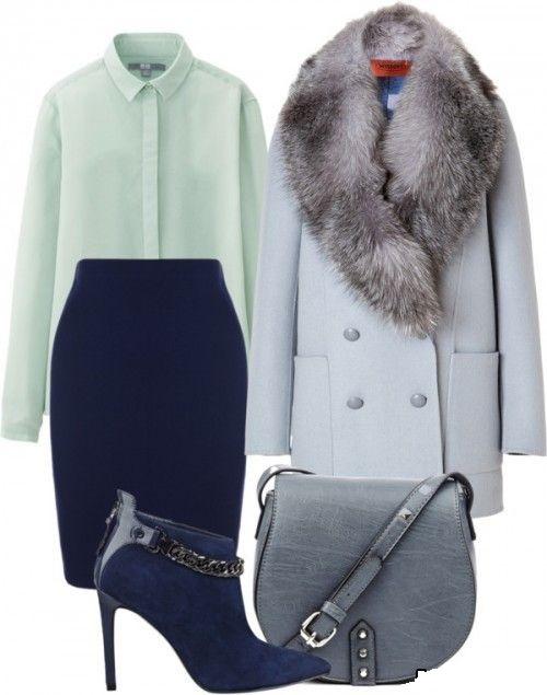 Похолодало - стильные и модные сеты с пальто разной степени утепленности
