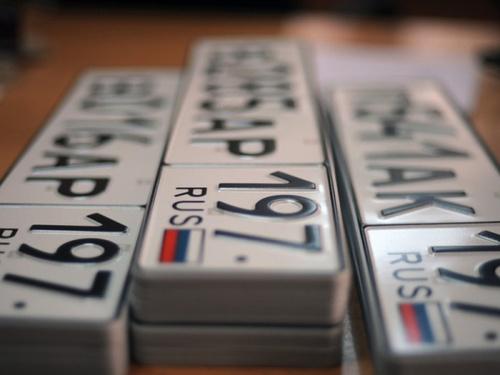 Россияне в 2019 году получат новые автомобильные номера