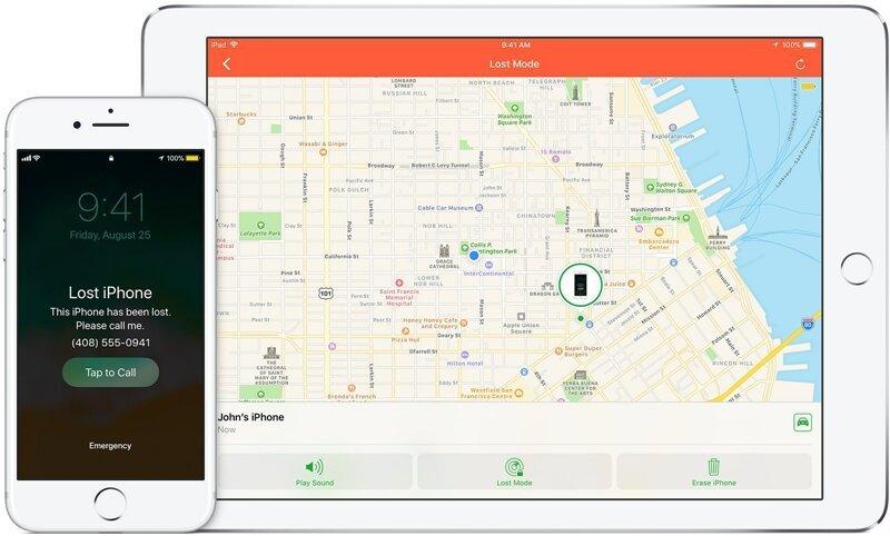 3. Настройте стандартные защитные программы android, apple, кража, смартфон, совет, телефон
