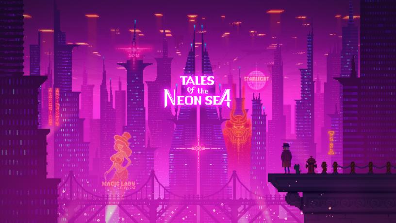 Tales of the Neon Sea — киберпанк, да не тот. Рецензия adventures,pc,tales of the neon sea,Игры,обзор,Приключения