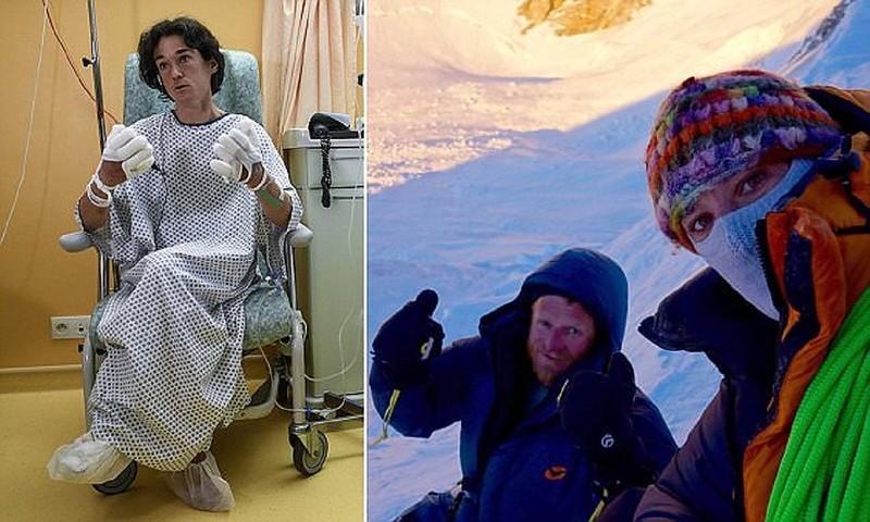 Альпинистка бросила товарища, чтобы спастись