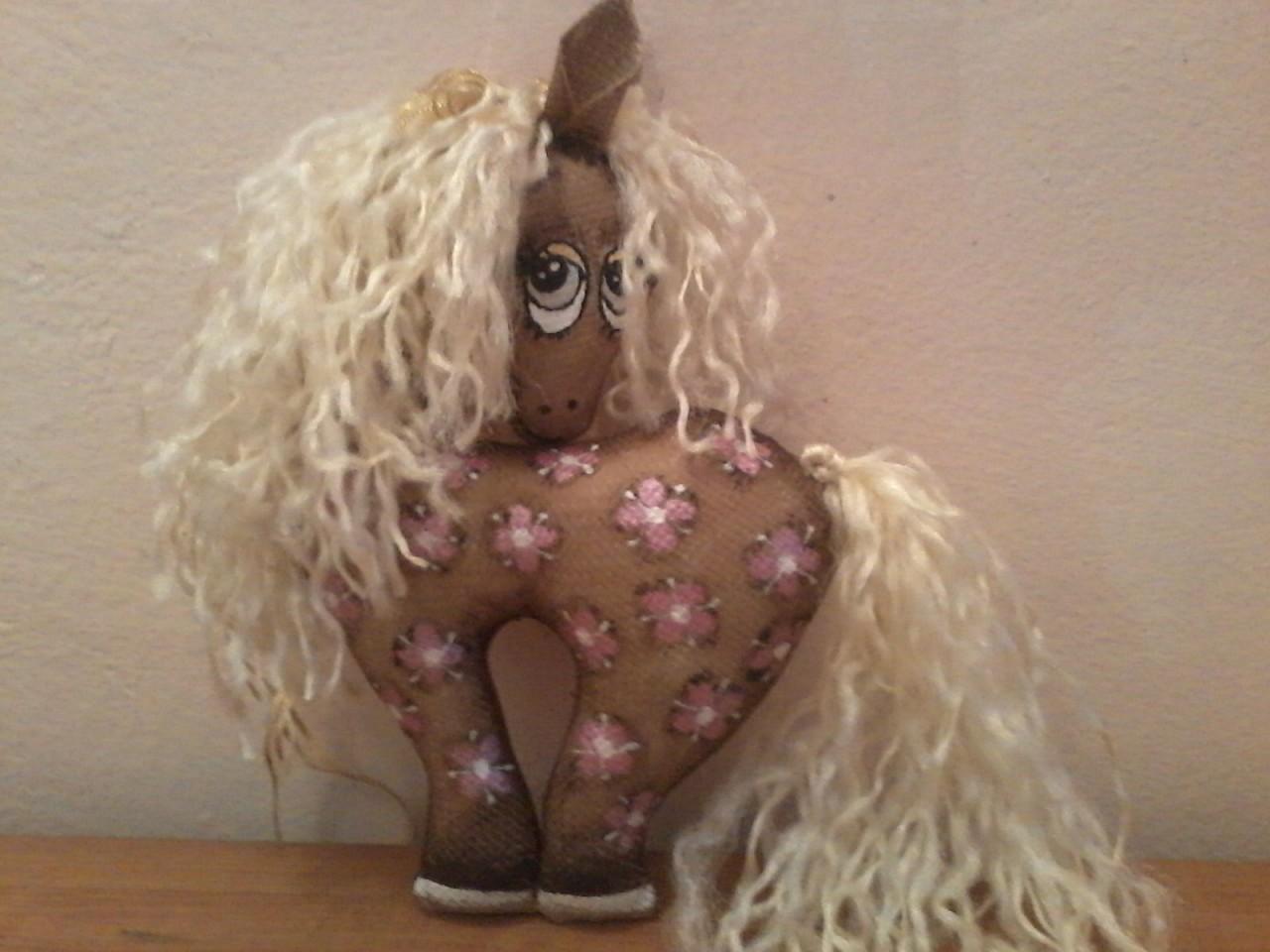 Кофейная лошадка