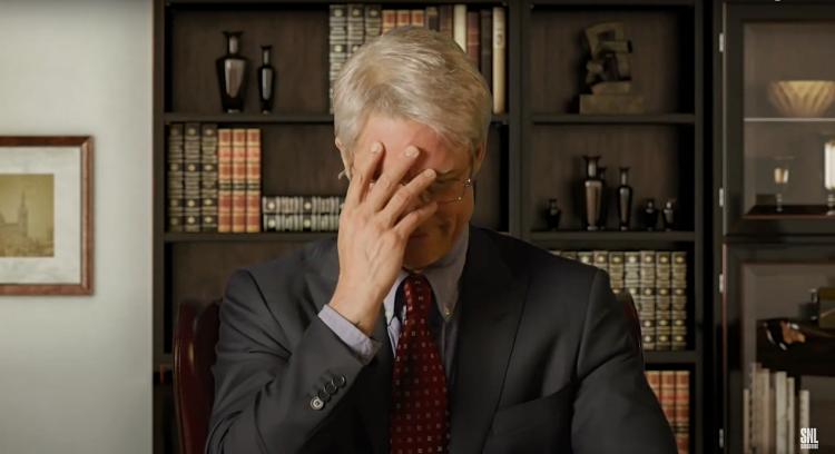 Брэд Питт появился в образе доктора на американском шоу и высмеял заявления Дональда Трампа Звезды,Новости о звездах