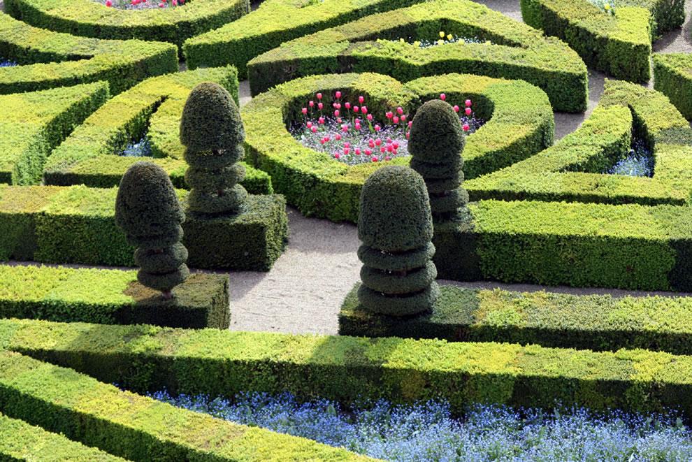 Сад Любви в замке Вилландри - самое романтическое место Франции