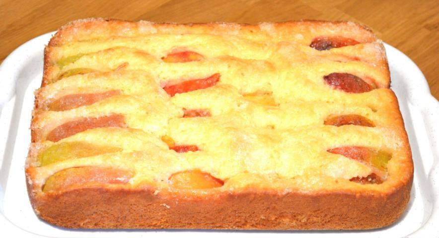 Вкусный пирог с фруктами за 10 минут + выпечка