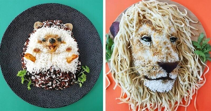 Креативная мама превратила еду в искусство