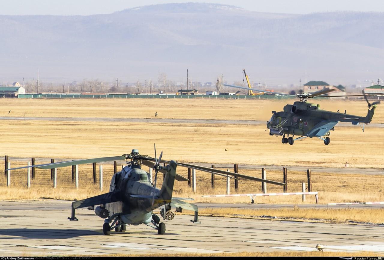 Новый 112-й отдельный вертолетный полк в Восточном военном округе