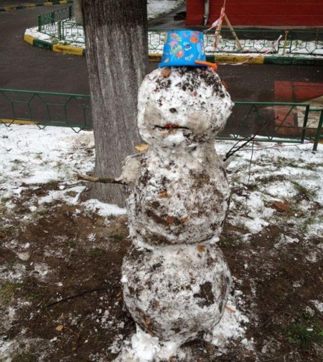 такие и снеговики