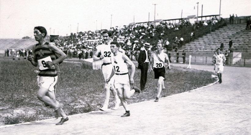 Олимпийский марафон 1904 год…