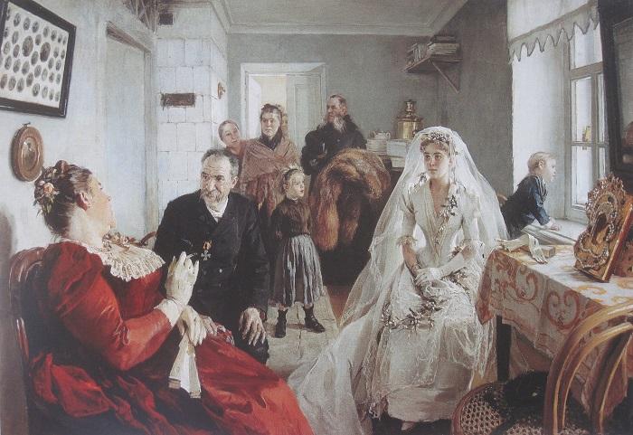 Каких невест 300 лет назад русские женихи считали лучшими, а каких девушек замуж не брали