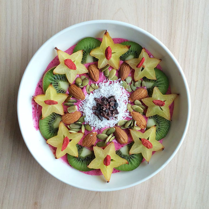 Настоящие произведения искусства из веганских блюд