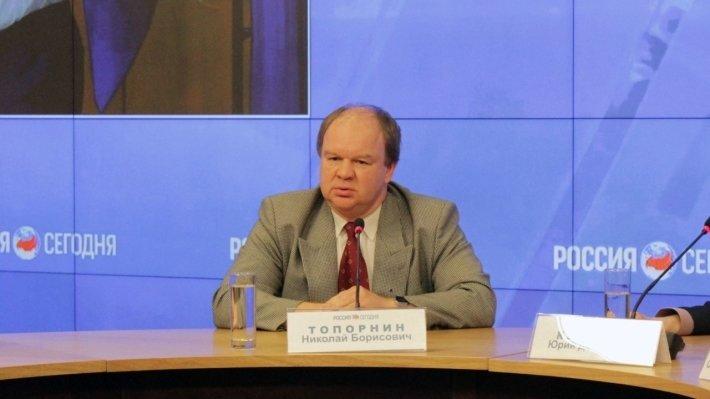 Доцент МГИМО, кандидат юридических наук Николай Топорнин