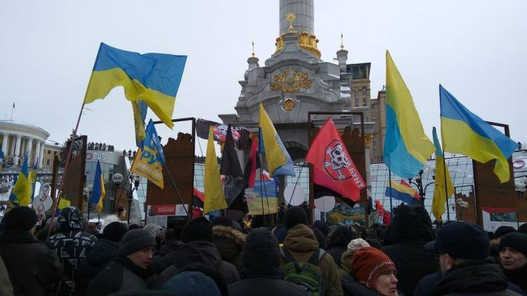 Сторонники Евромайдана сожал…