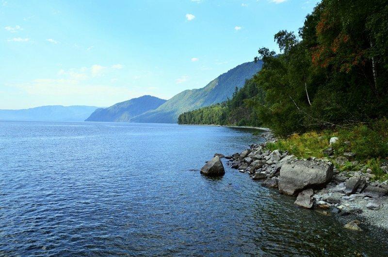 Озеро Телецкое – самое большое озеро Алтая. алтай, озёра, путешествия, фото
