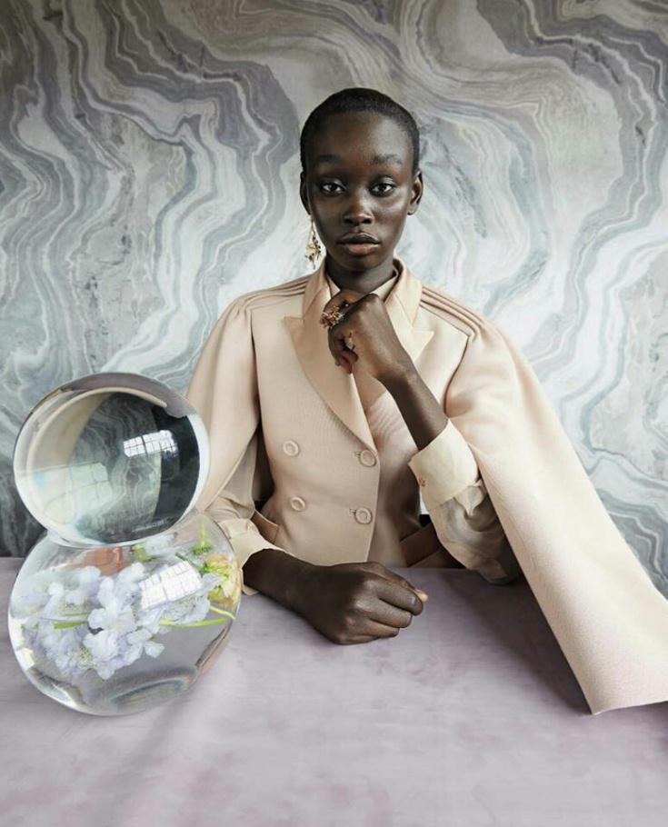 """""""Mindbending Couture"""" by Sølve Sundsbø for Vogue Italia September 2018"""