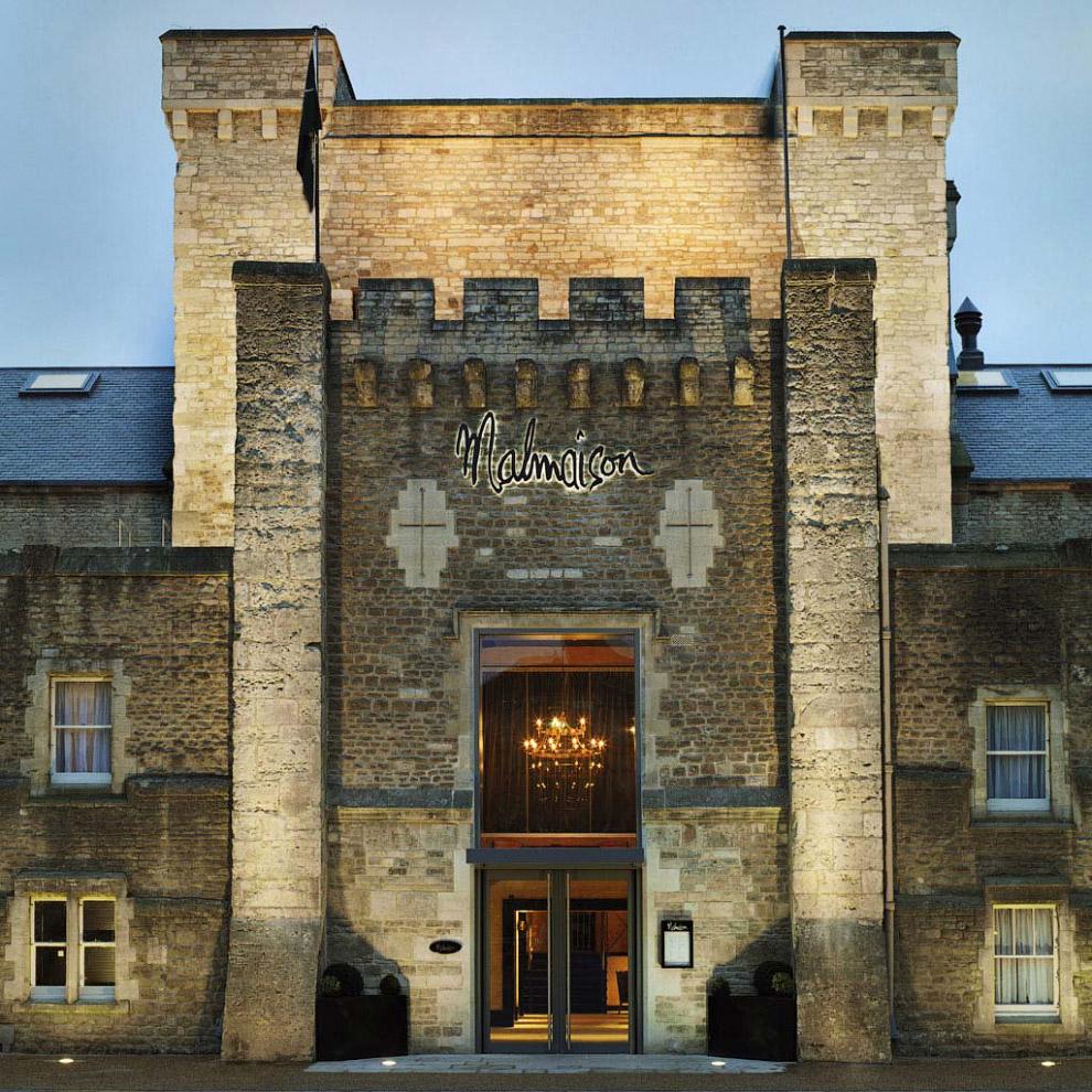 британский отель Malmaison Oxford