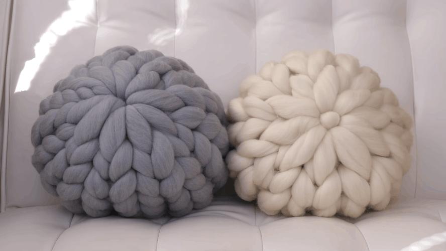 Эффектная подушка: быстрое обновление интерьера даже при отсутствии навыков