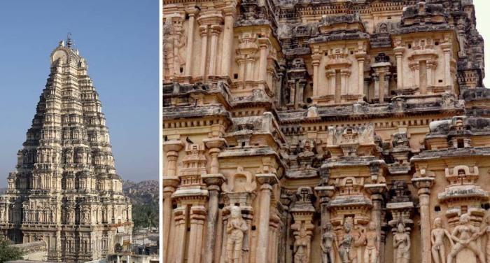 «Неприличный» индуистский храм Вирупакши: Какой смысл вложил древний скульптор в изображение плотской любви
