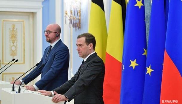 Глава правительства Бельгии: Евросоюз не поддерживает антироссийские санкции