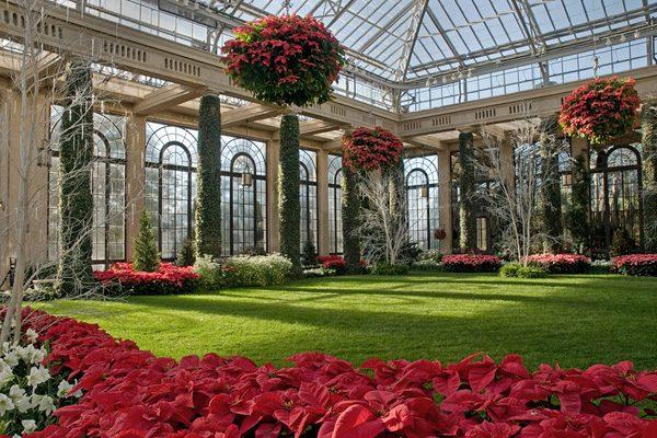 Сказочные сады Лонгвуда сады,США,Филадельфия