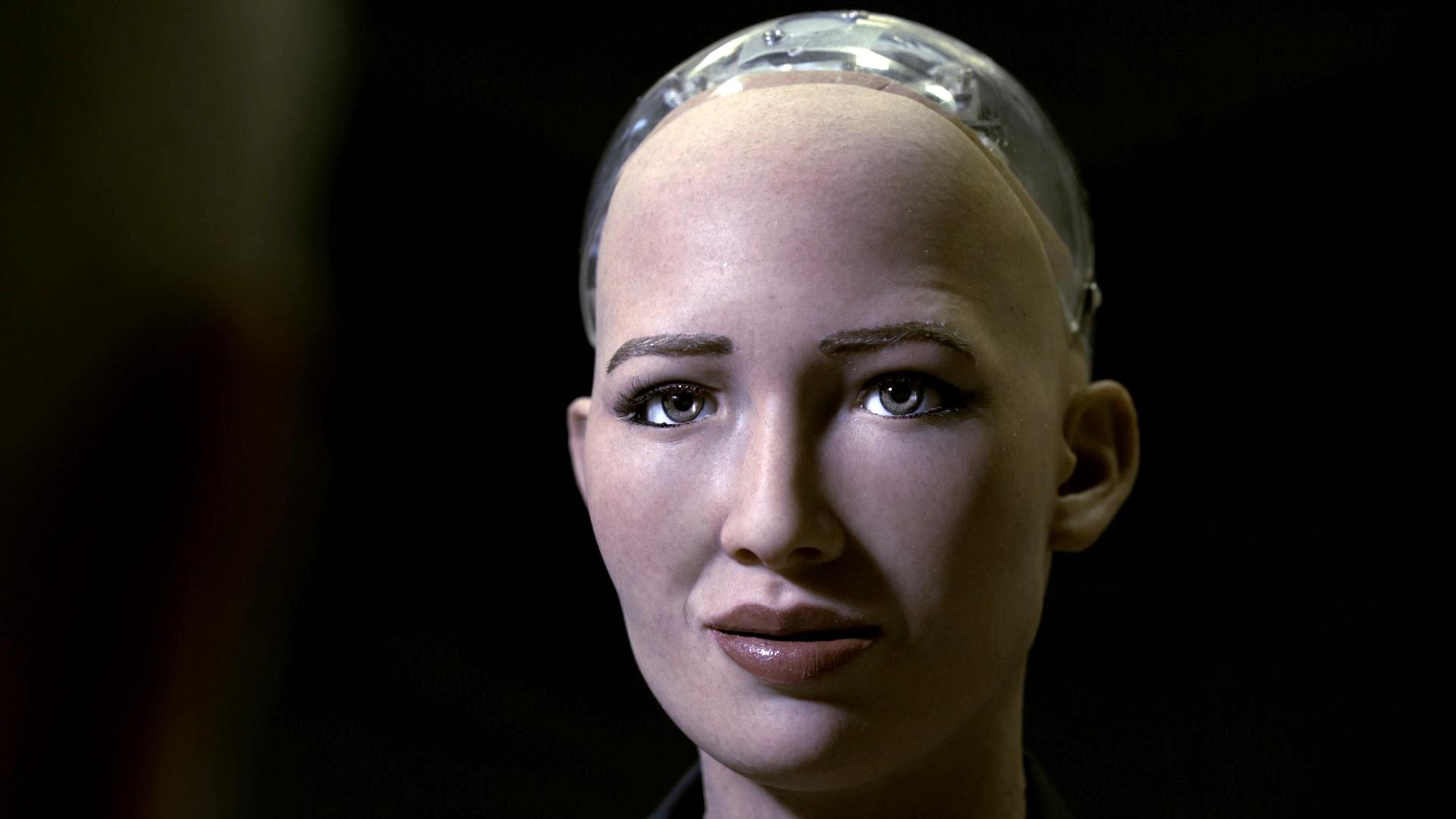 Robots must teach humans about love, says world's most famous robot