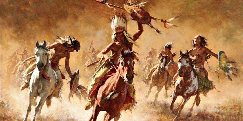 6. Индеец — это благородный краснокожий дикарь америка, индейцы, история, мифы, сша