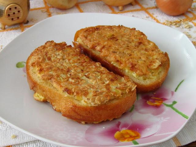 Горячие бутерброды с овсянкой