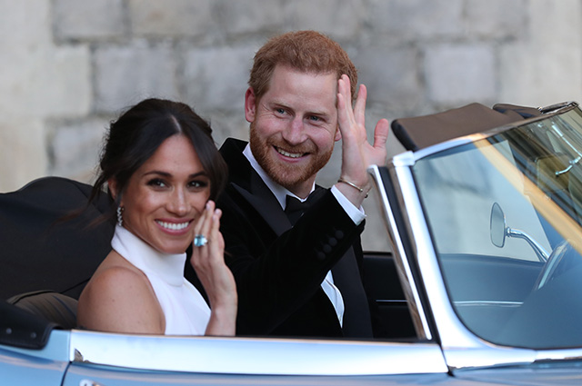 Принц Гарри и Меган Маркл признались, что у них не было тайной свадьбы за три дня до официальной церемонии Монархии