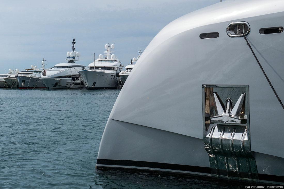 Шикарные яхты знаменитых гос…