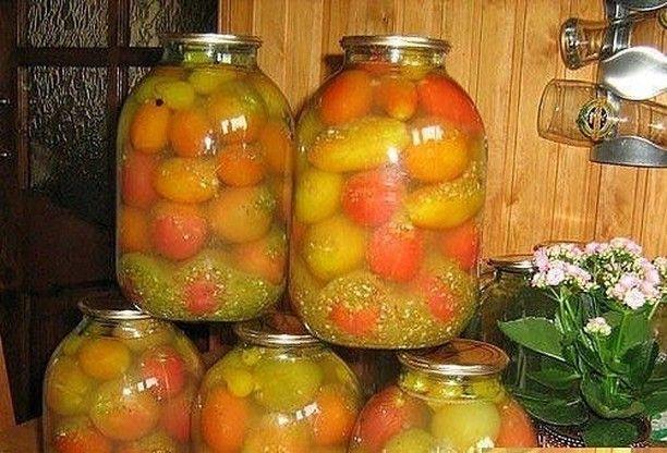 Рецепт помидоров «Армянчики»: пикантные и ароматные
