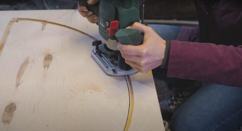 Создаем шкаф своими руками из фанеры и ротангового полотна интерьер,рукоделие,своими руками,сделай сам