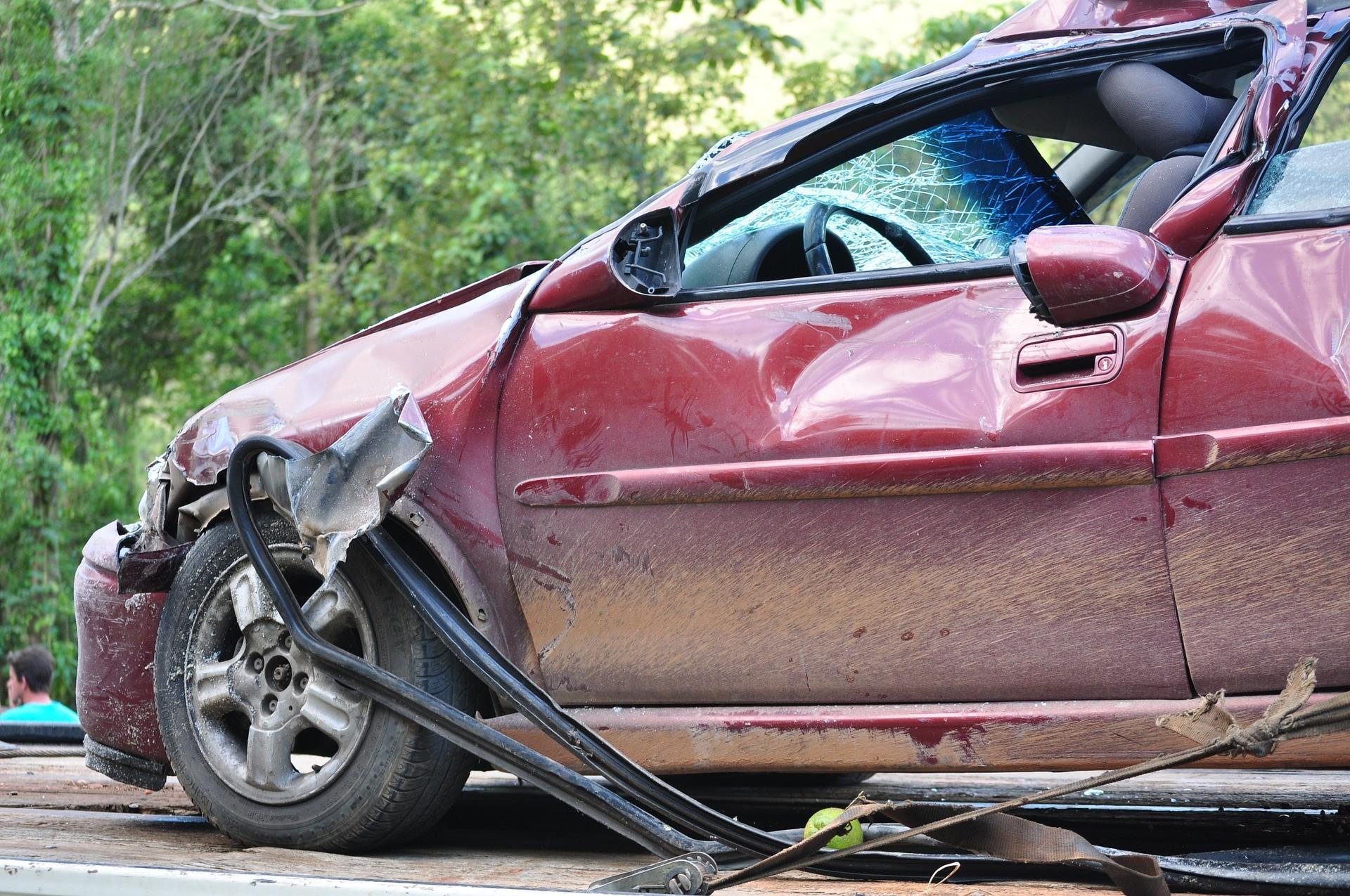 Истории очень странных автомобильных аварий