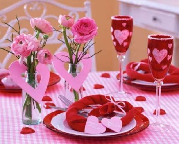 Идеи на день святого валентина по оформлению праздничного интерьера