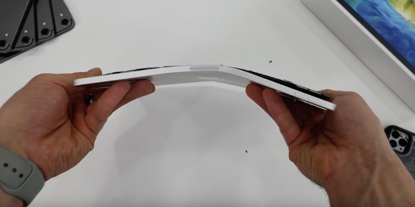 По стопам старого планшета: новый iPad Pro так же легко гнется и трещит по швам
