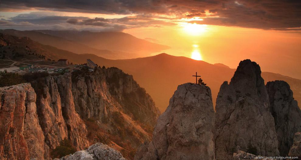 Гора Ай-Петри Ай-Петри,Крым,пейзажи,природа