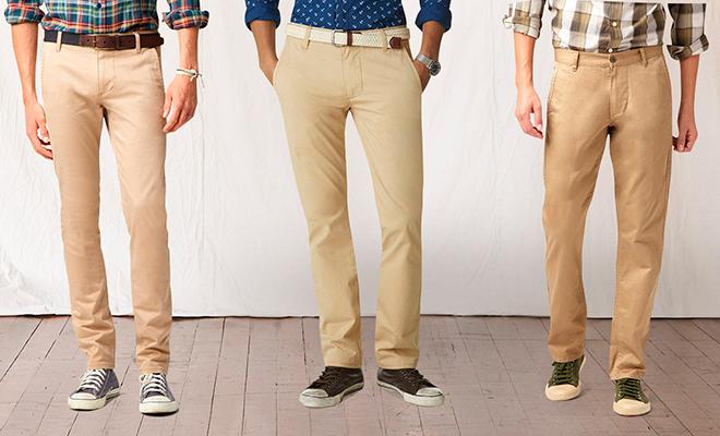 Подбираем брюки на лето вместе с Dockers