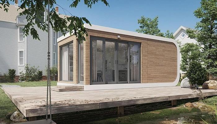 Американская компания за сутки «напечатала» дом на 3D-принтере площадью 32,5 кв.м