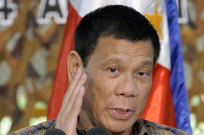 Президент Филиппин Родриго Д…