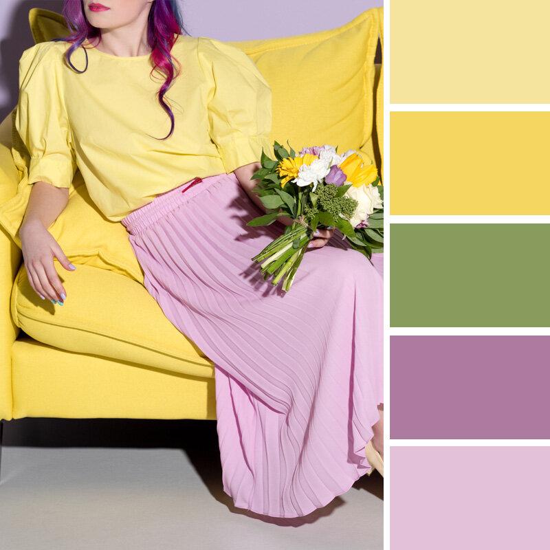 7 цветов, которые делают образ женщины 40+ моложе