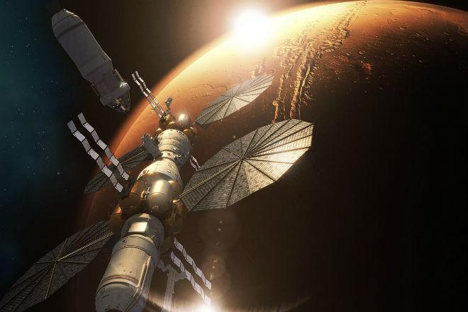 НАСА придумали как создать атмосферу на Марсе